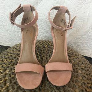 MIX No. 6 💖pink suede high heels